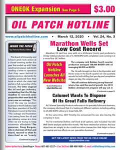 march 12 2020 cover page oil patch hotline