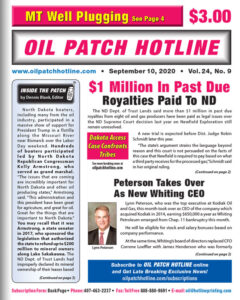 oil patch hotline page 1 september 10 2020