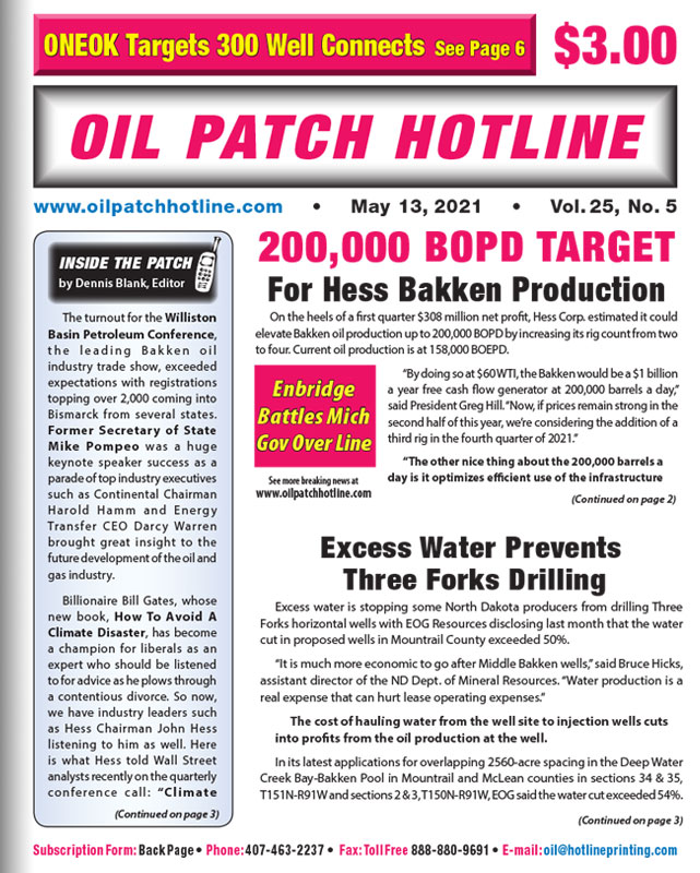 oil patch hotline news may 2021